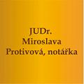 JUDr. Miroslava Protivová - notářka